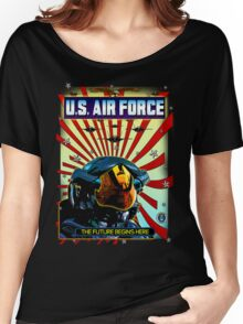 THE U.S. AIR FORCE Women's Relaxed Fit T-Shirt