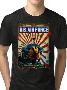 THE U.S. AIR FORCE Tri-blend T-Shirt