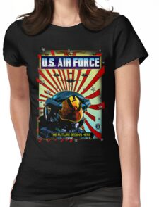 THE U.S. AIR FORCE Womens Fitted T-Shirt