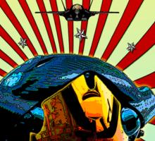 THE U.S. AIR FORCE Sticker