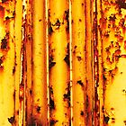 Yellow Grit #2 by Carol Ferbrache
