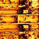 Yellow Grit #3 by Carol Ferbrache