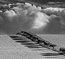 Clouds Approaching - Hornby, Lancashire by Simon Lupton