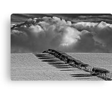Clouds Approaching - Hornby, Lancashire Canvas Print