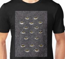 golden gaze Unisex T-Shirt