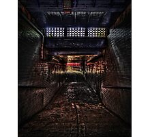 Baghill Station Subway. Pontefract Photographic Print