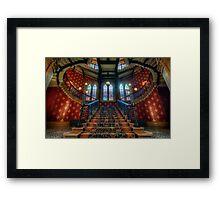 St. Pancras Renaissance London Hotel Framed Print
