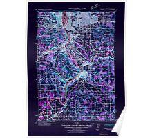 USGS Topo Map Oregon Oregon City 282776 1941 62500 Inverted Poster