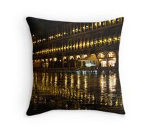 St Marks Square - Venice Throw Pillow
