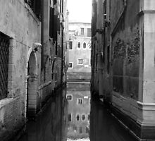 Behind La Fenice - Venice by Rob Foster
