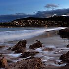 Blackmans Bay at Night ! by Maureen Johnston