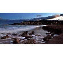 Blackmans Bay at Night ! Photographic Print