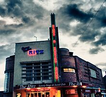 Ritz Bingo Neon  by Richard Jackson