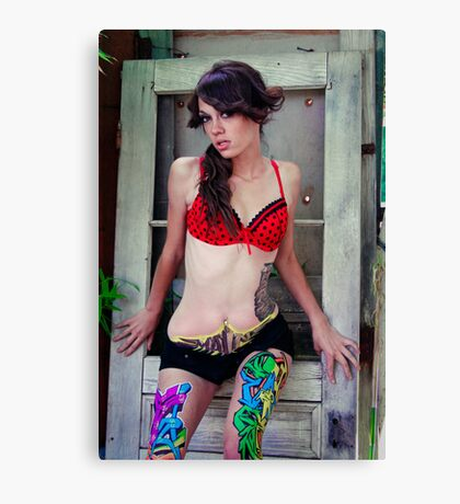 Ashley Renea Canvas Print