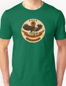 "Spaceballs Eagle 5 Logo ""Hero For Hire""  T-Shirt"