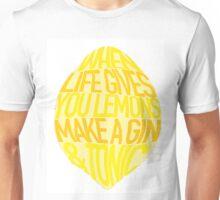 Gin & Tonic Quote Unisex T-Shirt