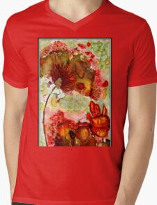 Blooming Impressions.. Mens V-Neck T-Shirt