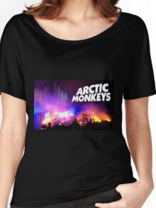 Arctic Monkeys (Alex Turner) in Concert Women's Relaxed Fit T-Shirt