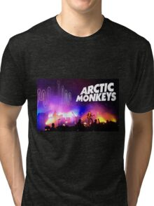 Arctic Monkeys (Alex Turner) in Concert Tri-blend T-Shirt