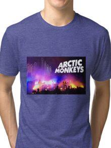 Arctic Monkeys (Alex Turner) in Concert Tri-blend T-Shirt