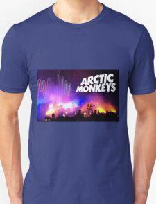 Arctic Monkeys (Alex Turner) in Concert Unisex T-Shirt