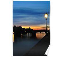 River Arno, Florence. Poster