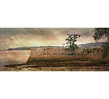 disused jetty (Topsham) Photographic Print