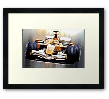 Formula One Framed Print
