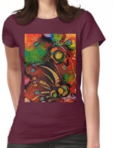 The colours of my mind.. Womens Fitted T-Shirt