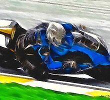 Motorcycle Racer by artstoreroom