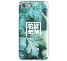 화양연화/花樣年華 x fall iPhone Case/Skin