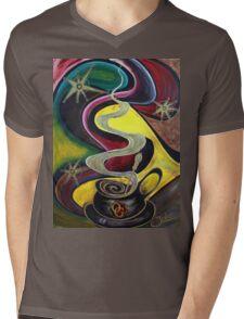 Organo Gold Coffee.. Mens V-Neck T-Shirt