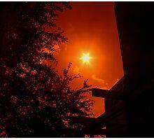 Dark Red Morning - Florida Photographic Print