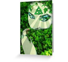 Nature Druid Greeting Card
