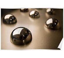 Metallic Sphere Poster