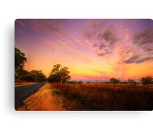 Long Long Way From Home Canvas Print