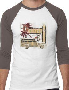 SURF CREW Men's Baseball ¾ T-Shirt