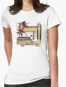 SURF CREW Womens Fitted T-Shirt