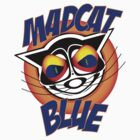 Mad Cat Blue by AlanBennington