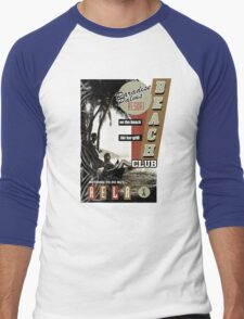 PARADISE PALMS Men's Baseball ¾ T-Shirt