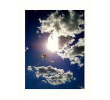 Up to the Sun Art Print