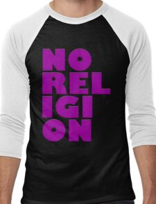 NORELIGION PINK Men's Baseball ¾ T-Shirt