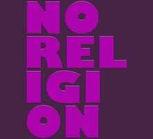 NORELIGION PINK Womens Fitted T-Shirt