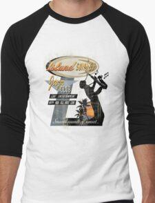 SUNSET JAZZ Men's Baseball ¾ T-Shirt