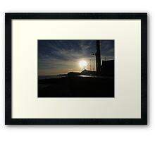 Sun In The Sky Framed Print
