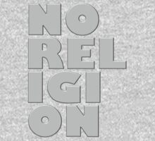 NORELIGION METAL by peter chebatte
