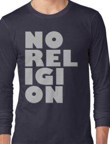 NORELIGION METAL Long Sleeve T-Shirt