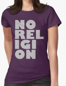 NORELIGION METAL Womens Fitted T-Shirt