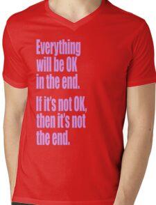 EVERYTHING PINK Mens V-Neck T-Shirt