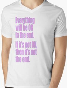 EVERYTHING PINK Mens V-Neck T-Shirt